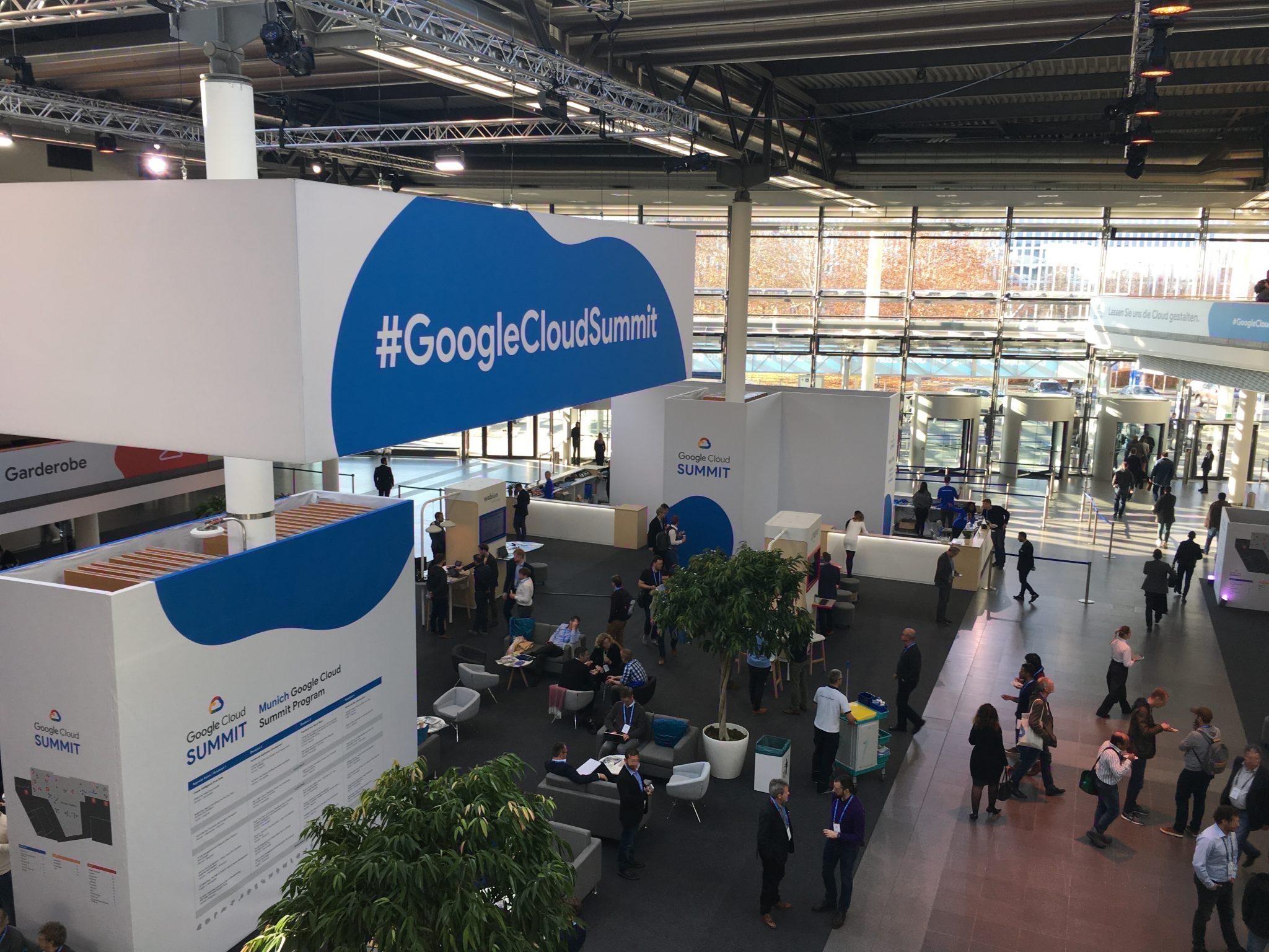 Treffen Sie uns auf dem Google Cloud Summit 2019